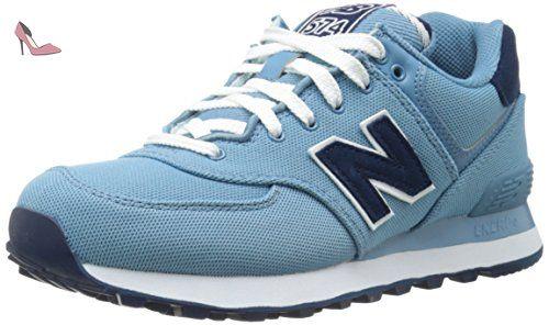 Balance Women's Blue Shoe Collection Wl574 Polo Pique New Running d1nZRdW