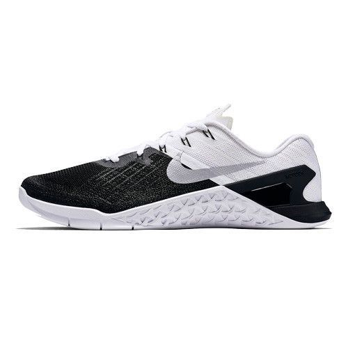 Men's Nike MetCon 3 - Black White Crush your most demanding workouts  feeling stable and strong
