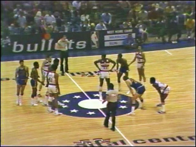 1975 NBA Finals (Golden State Warriors vs. Washington Bullets). The Warriors swept the Bullets in four games.