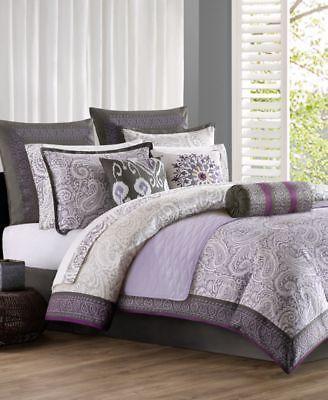 New Echo Design Marrakesh Cal King Comforter Set Bedding Lavender
