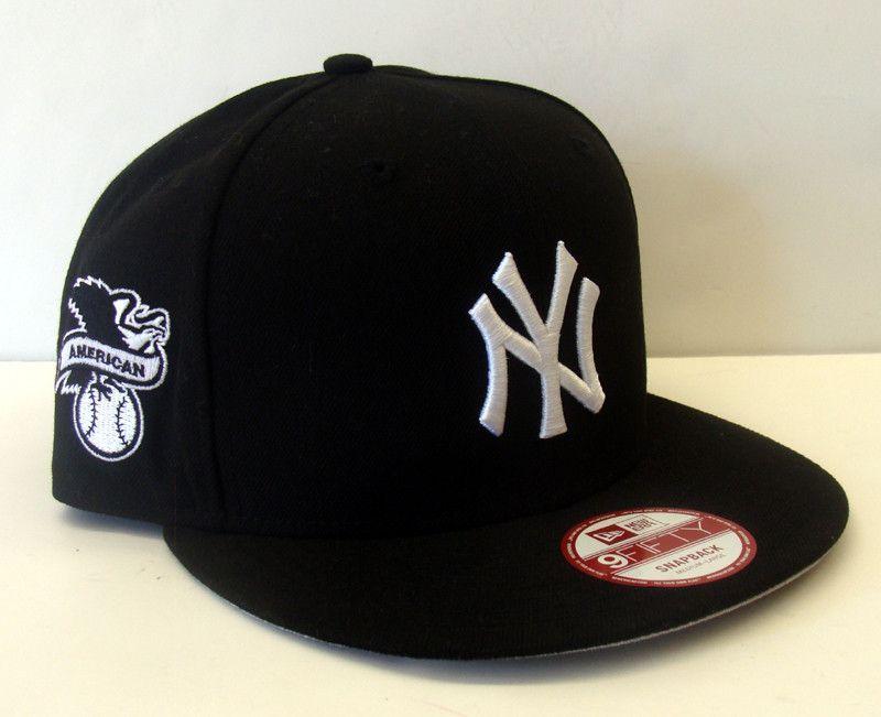 Mlb New York Yankees New Era Baycik Snapback Cap Hats For Men Fitted Hats Fresh Hat