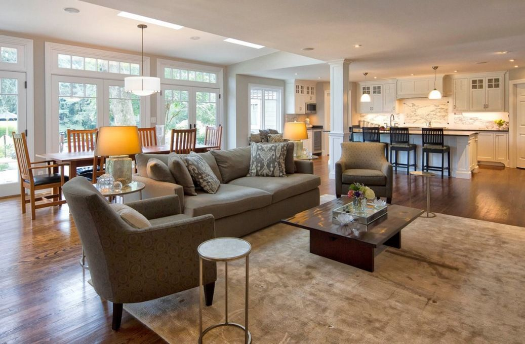 Family Room Floor Plan arranging furniture in a long room 12 different ways family room layoutsliving Find This Pin And More On Home Floor Plan