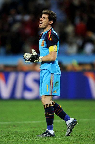 Iker Casillas - Germany v Spain: 2010 FIFA World Cup - Semi Final