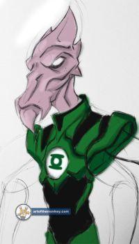 Green Lantern Salaak