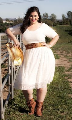 ideas for plus size bridesmaid dresses in country western wedding ...