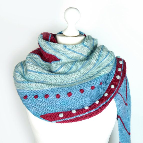 Shawl Hamburg Ahoi Digital Knitting Pattern Get Your Sht Together