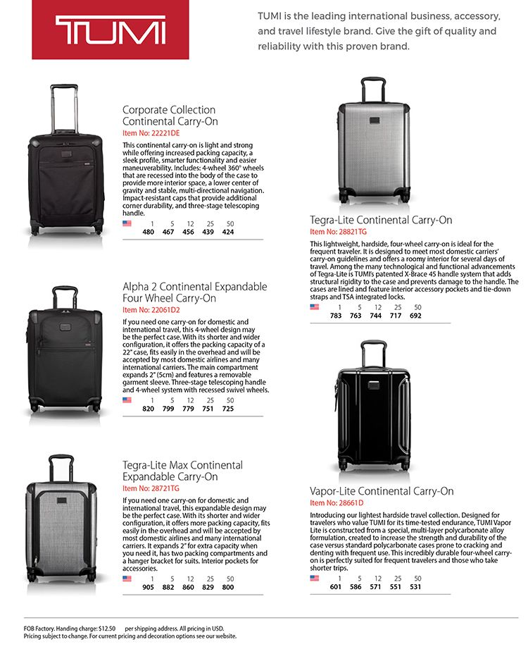 TUMI Travel Products Make Perfect Gifts!