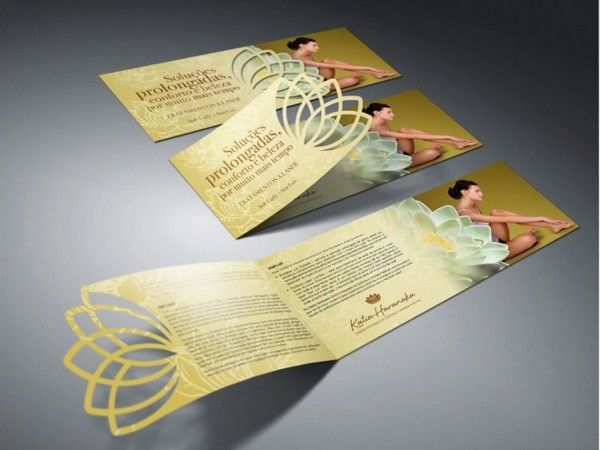 Front Page Of Brochure Design Examples By Nice Production Via