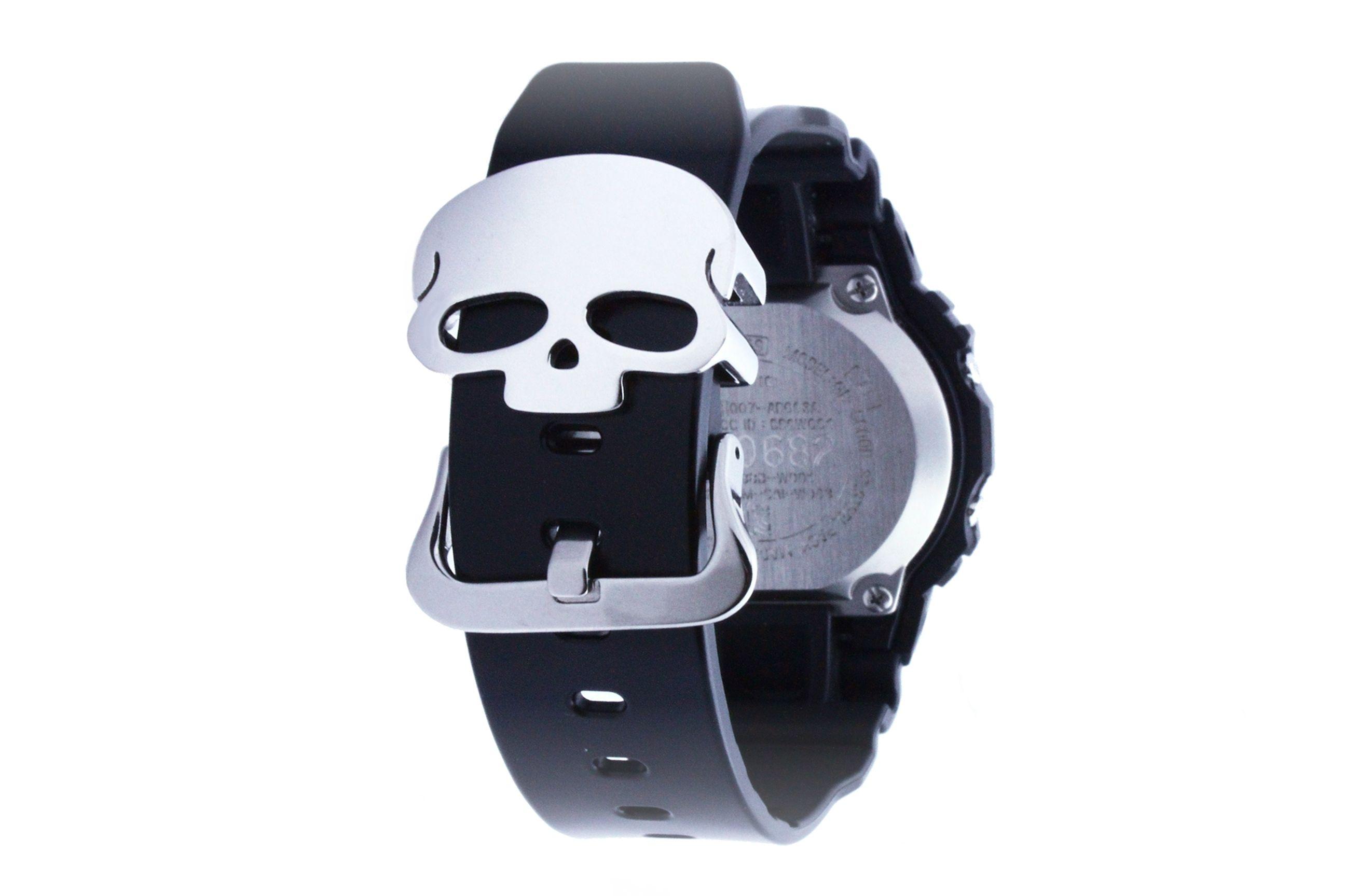 G-SHOCK Skull strap holder [Silver]