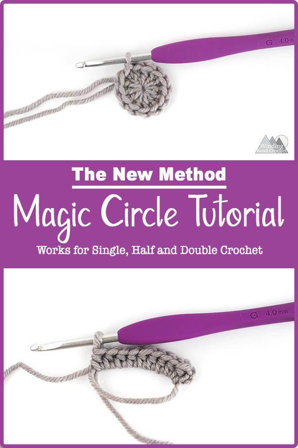 Crochet Magic Circle: A New Method