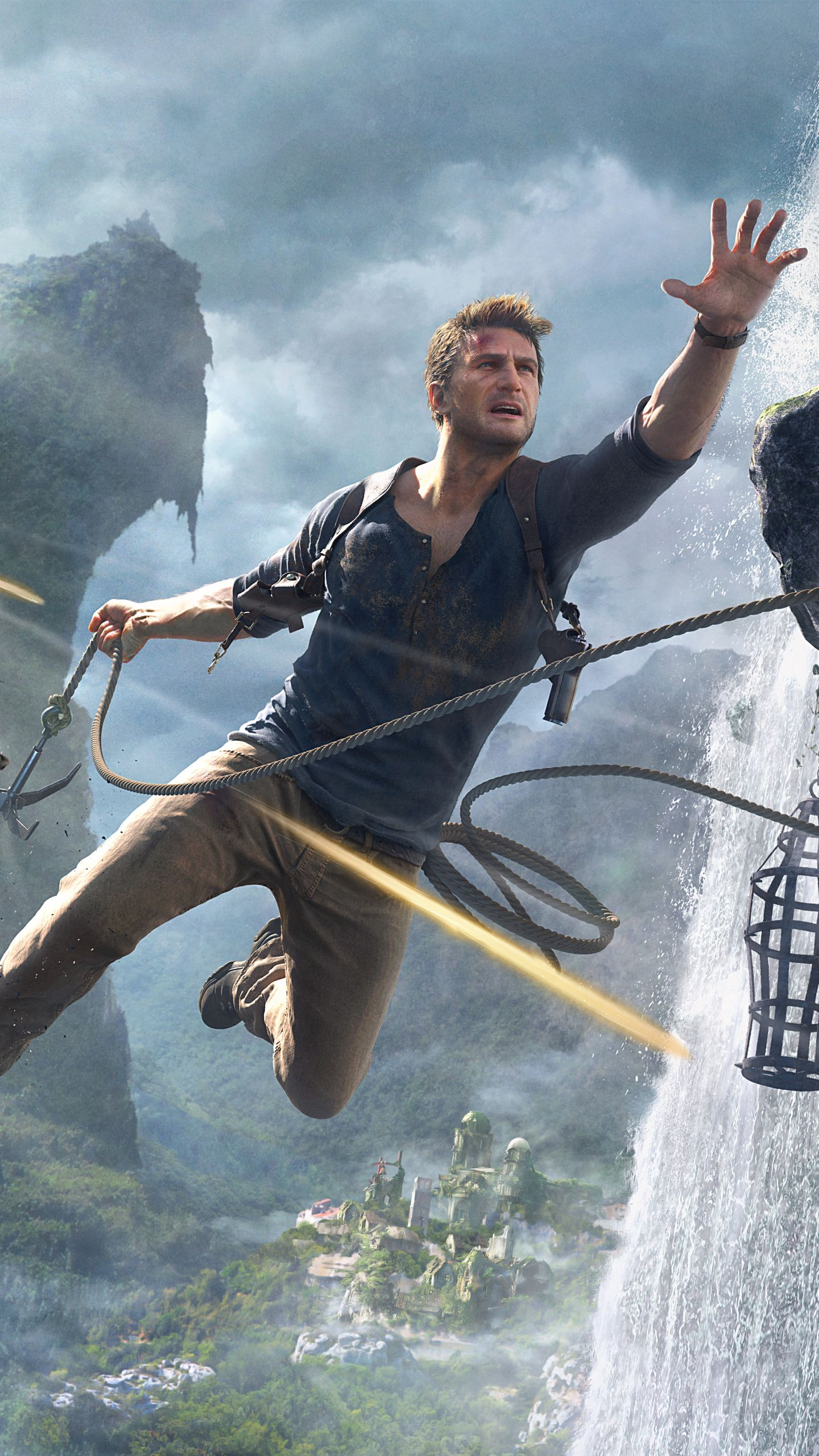 Video Game Uncharted 4 A Thief S End Uncharted Nathan Drake Mobile Wallpaper Uncharted Uncharted Game Nathan Drake
