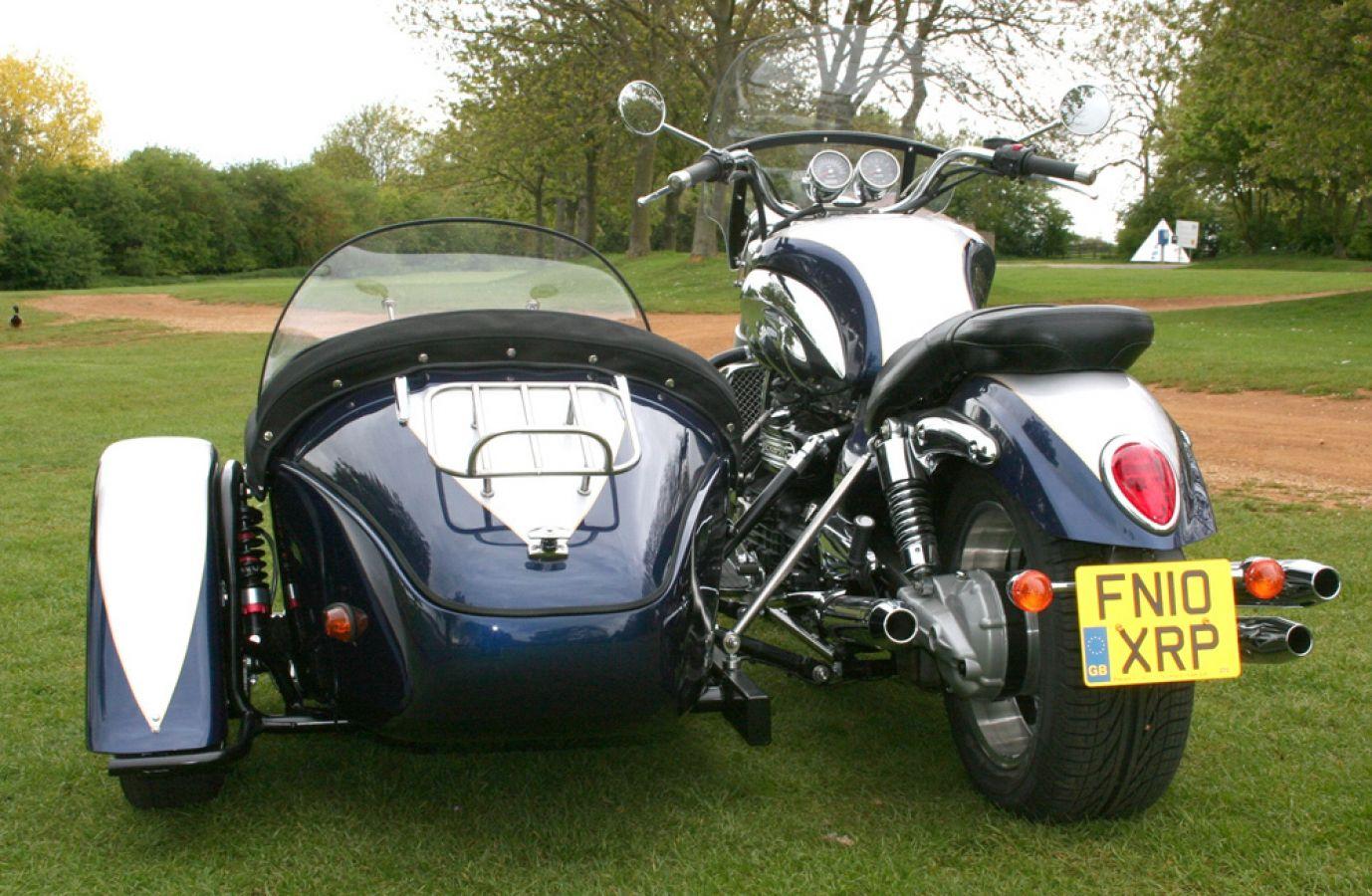 Triumph Rocket 3 Classic Sidecar Outfit Trike Kitcar Greg