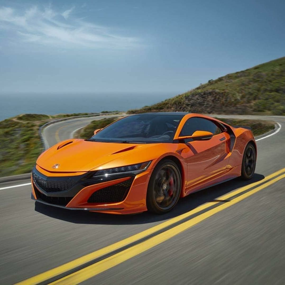 Acura NSX Thermal Orange Pearl