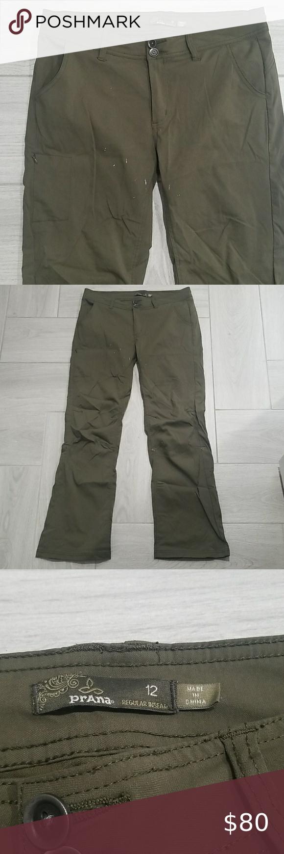 HP💕 PrAna • RARE Utility Safari Pants, Size 12