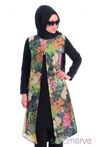 Tesettur Tunik Wb 4679 08 Siyah Hijab Fashion Moslem Fashion Fashion