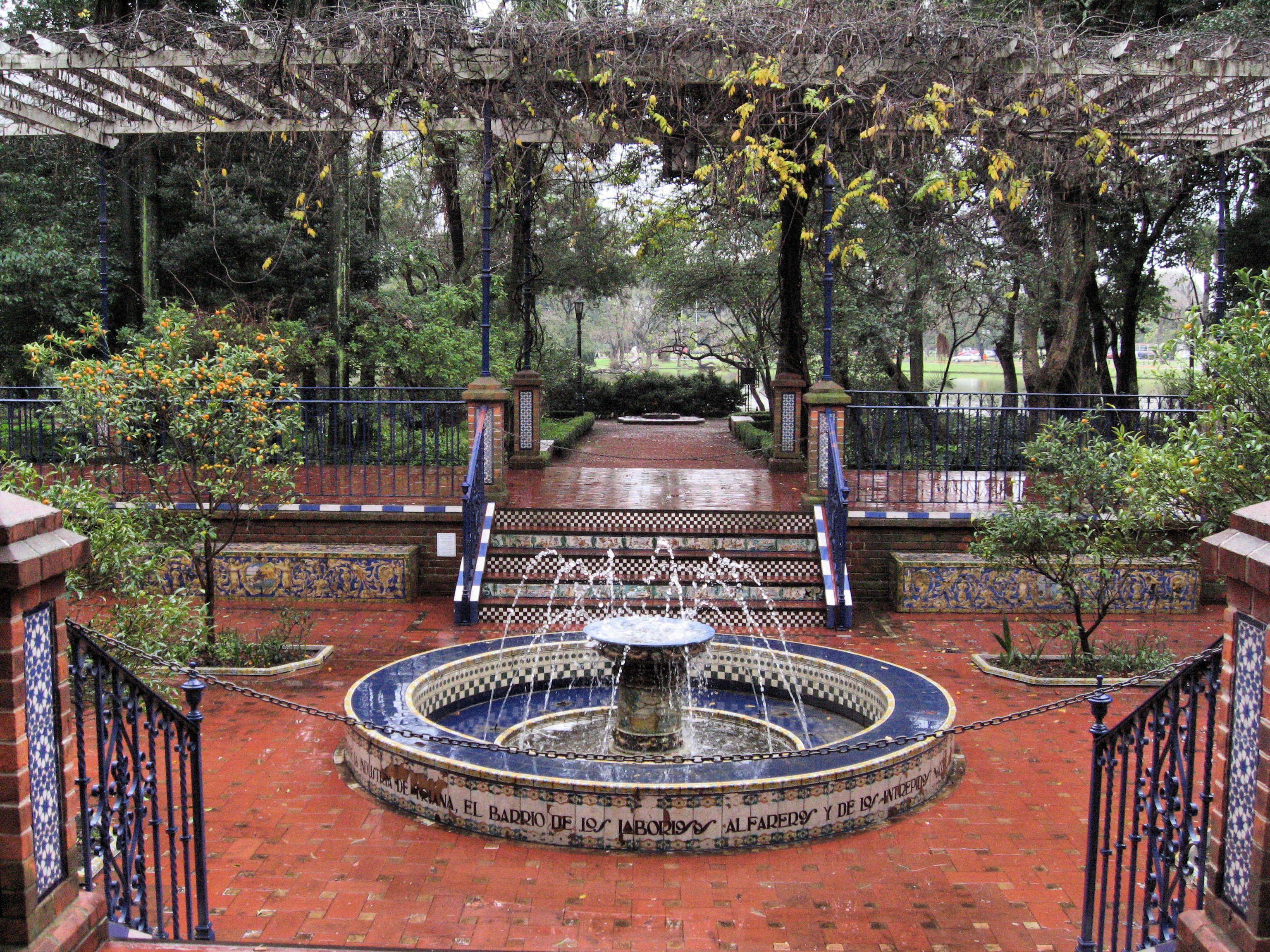 Patio andaluz del rosedal de palermo en buenos aires - Fotos patio andaluz ...
