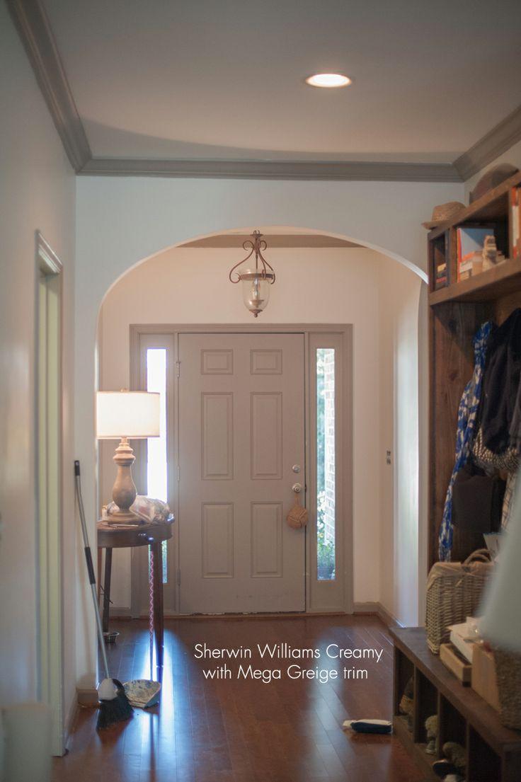 outstanding mega greige living room | Sherwin Williams color greige | Two Ellie - Sherwin ...
