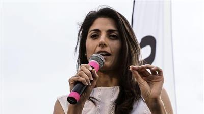 Rome Poised To Elect First Female Mayor Virginia Raggi Herr Pauls