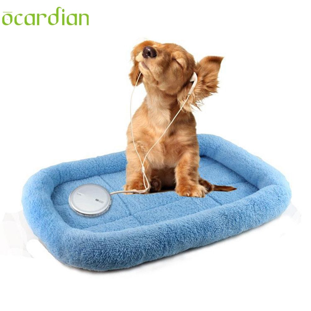 Ocardian dog blanket pet cushion dog cat bed soft warm sleep mat dog