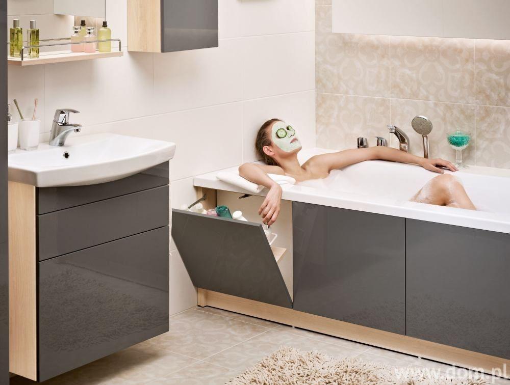 Mała łazienka W Bloku 10 Sposobów Na Przechowywanie W Małej