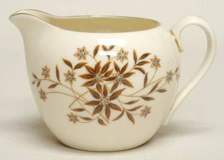 This is my china pattern. I got them from my grandmother; they were hers. Lenox Starlight.