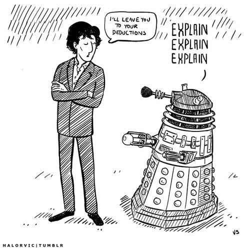 Sherlock vs Daleks.
