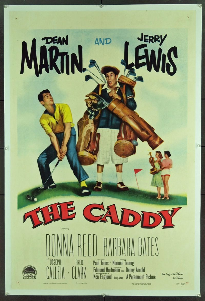 The Caddy, starring Jerry Lewis and Dean Martin.