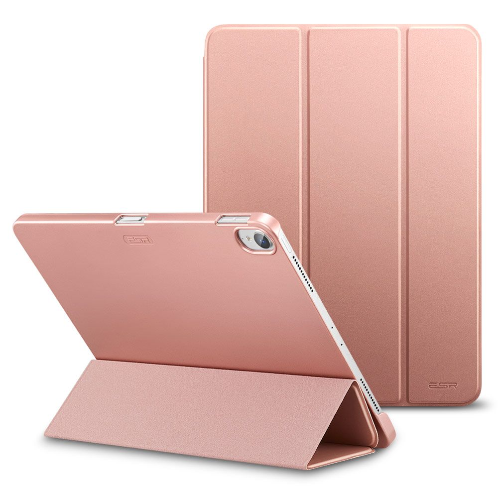 Case For Ipad Pro 11 Rubber Oil Cover PU Leather Ultra Slim Fit Light Weight Smart Case Rubberized Case For Ipad 2018