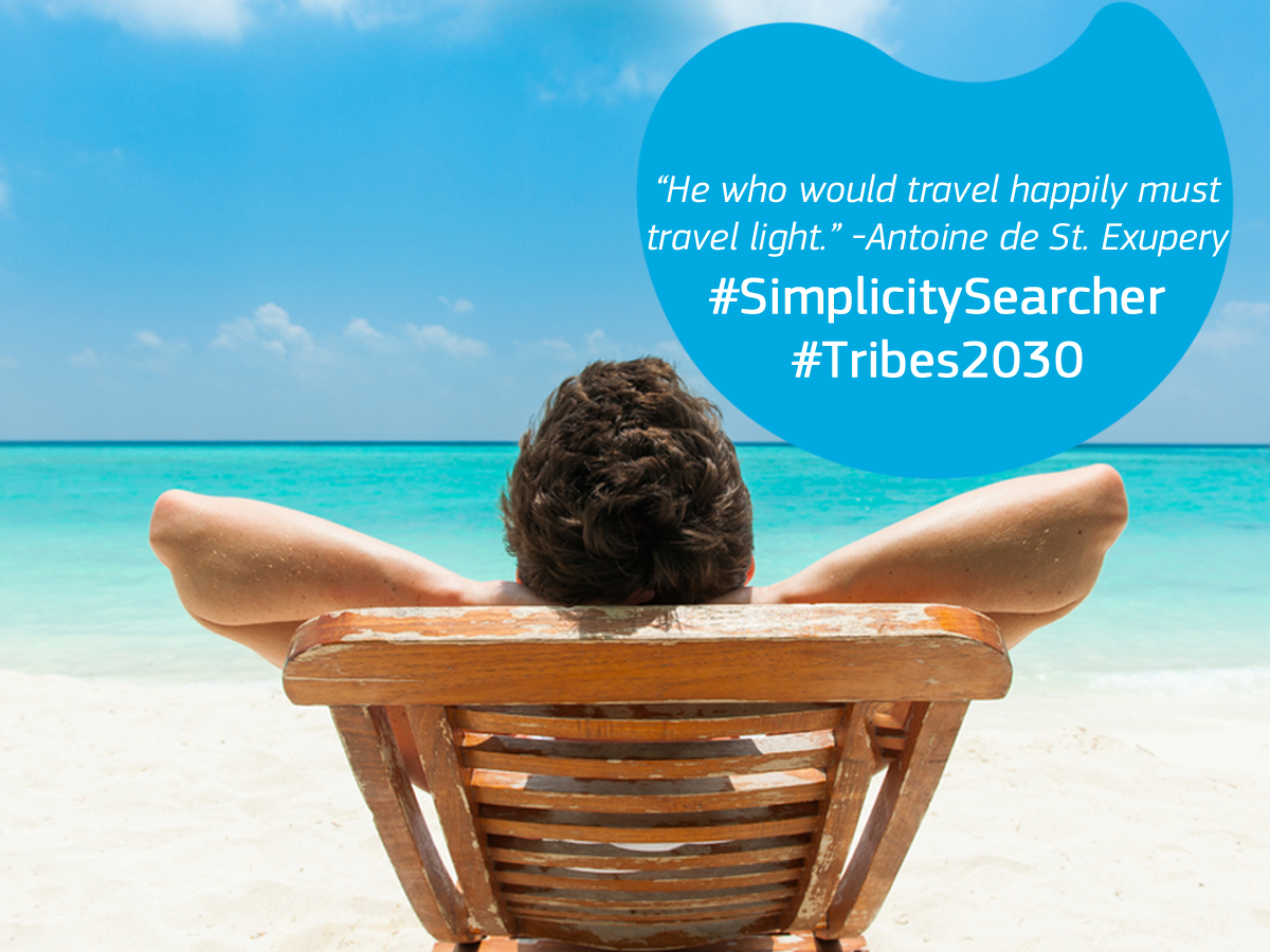 Is travelling light an essential component to being happy? What are your must-pack items?  #SimplicitySearcher #Tribes2030