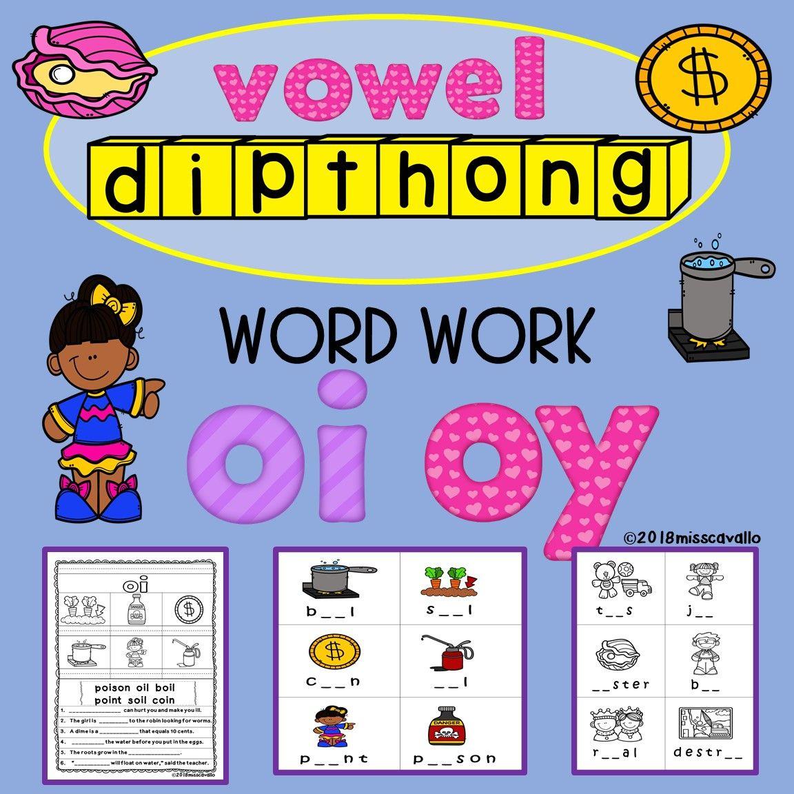 Oi Oy Word Work