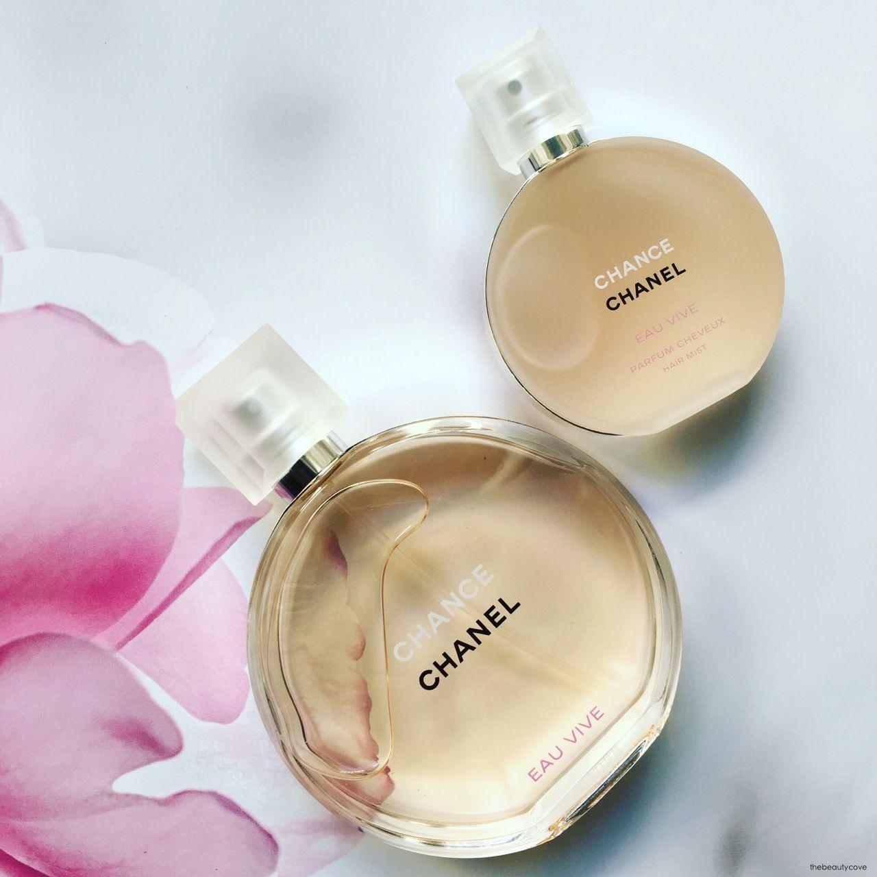 The Beauty Cove Chanel Chance Eau Vive Profumo Per Capelli E
