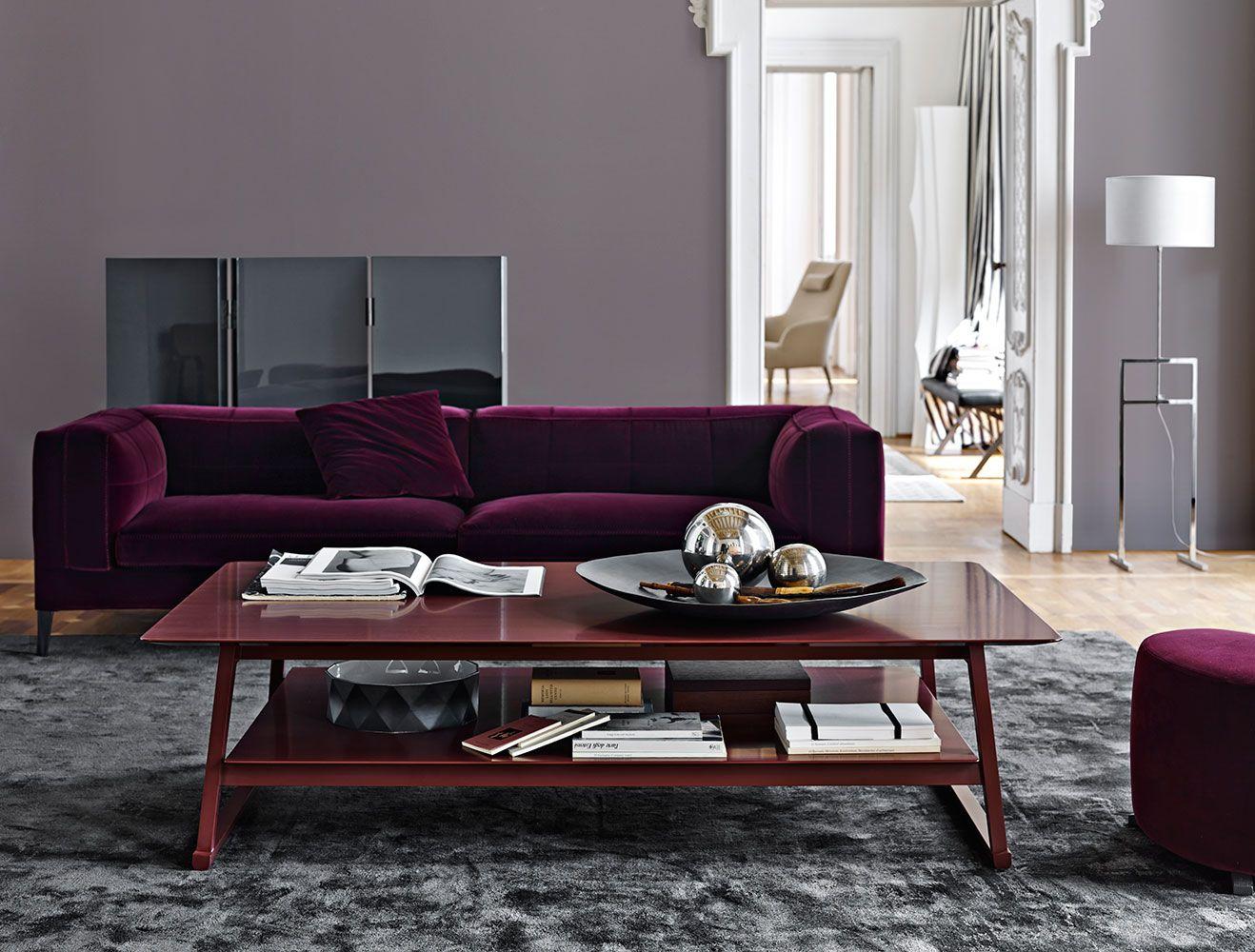 Small Table Recipio 14 Maxalto Design Of Antonio Citterio Coffee Table Contemporary Coffee Table Furniture