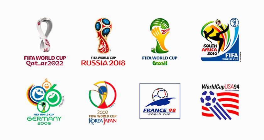 Fifa World Cup Logos From 1930 2022 Which One S The Best World Cup Logo World Cup Fifa World Cup