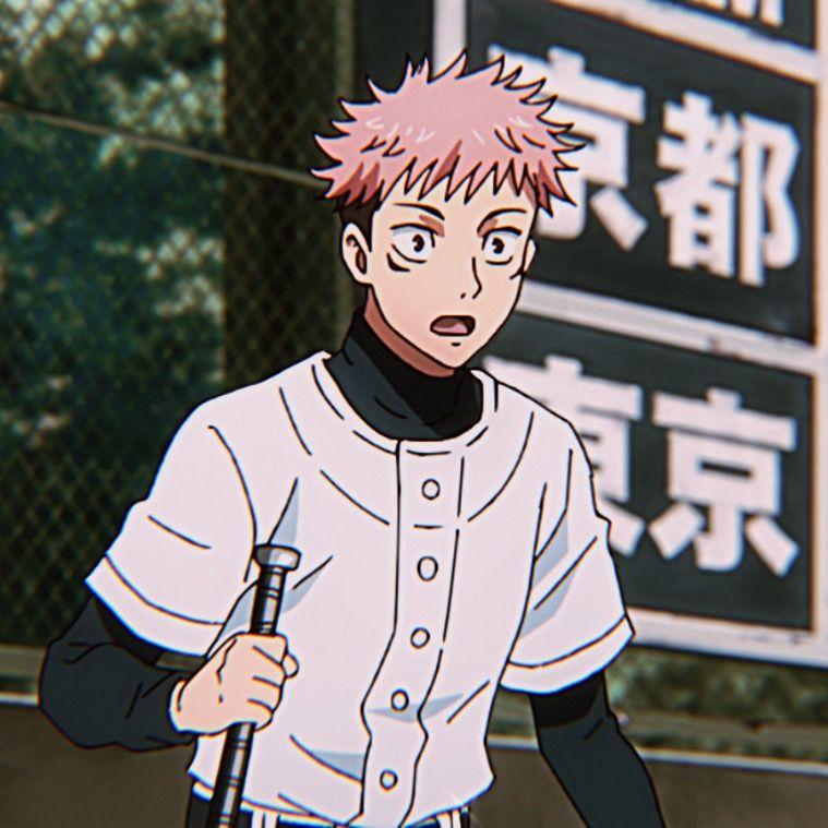 Yuuji Itadori Icon In 2021 Jujutsu Anime Fandom Anime