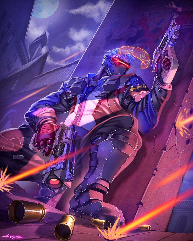 Soldier 76 Overwatch By Dramegar Overwatch Wallpapers Overwatch Tattoo Overwatch