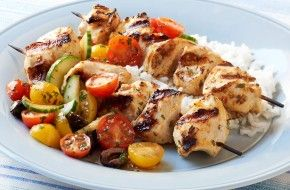 Coconut Curry Chicken Thighs With Cucumber Lime Relish Recipe Grilled Chicken Recipes Chicken Kabobs Chicken Recipes