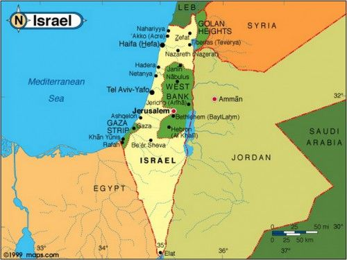 Israelmap Countries Pinterest Israel - Israel map