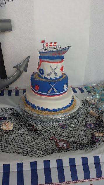 Nautical Birthday Cake Los Angeles CA