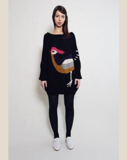 ostrich sweater