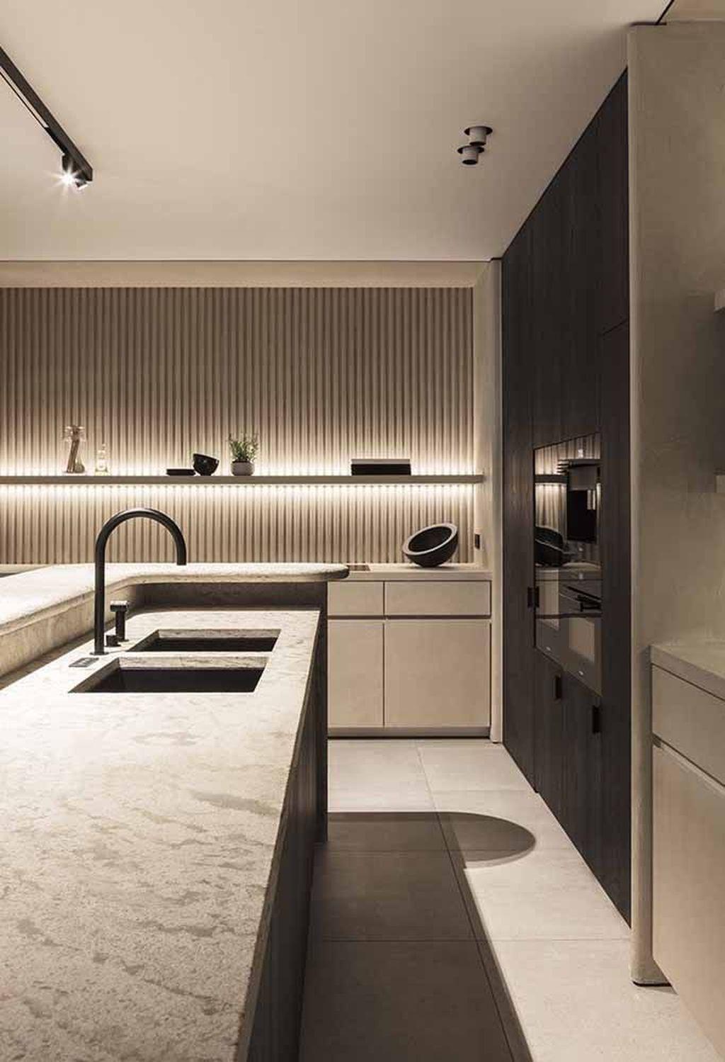 31 Beautiful Modern Condo Kitchen Design And Decor Ideas Contemporary Kitchen Design Luxury Kitchen Design Modern Kitchen Design