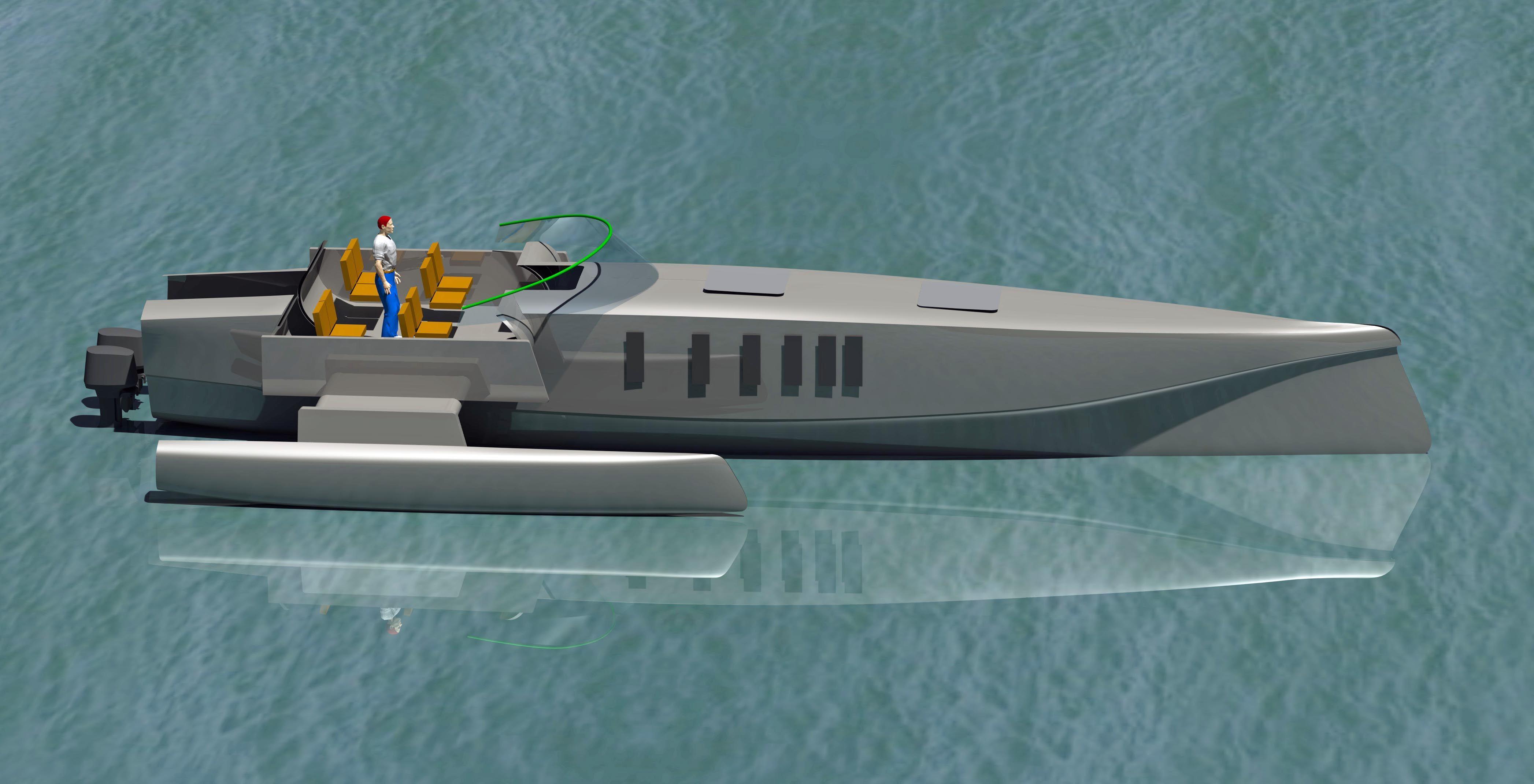 Trimaran Power Boat Plans Impremedia Net