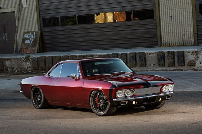 JB Granger's LS-Powered Pro Touring 1966 Chevy Corvair