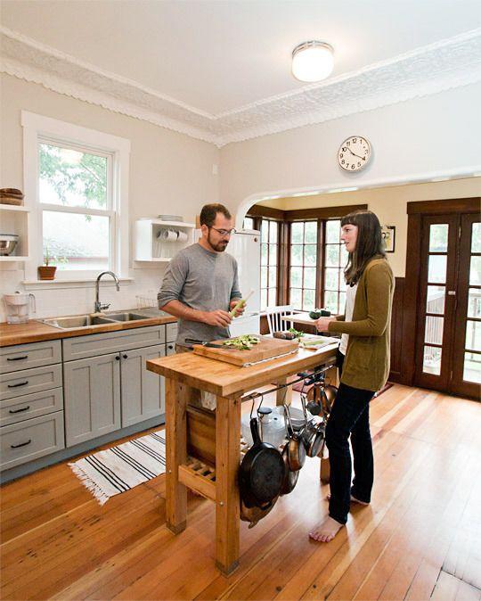 Jenny & Asmund\'s $4000 Renovated Kitchen & Garden | Cocinas y Decoración