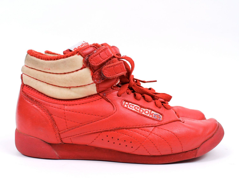 Vintage Hip Sneakers 1980s Dance Top Break Shoes Hop Hi Reebok qUVpMSz
