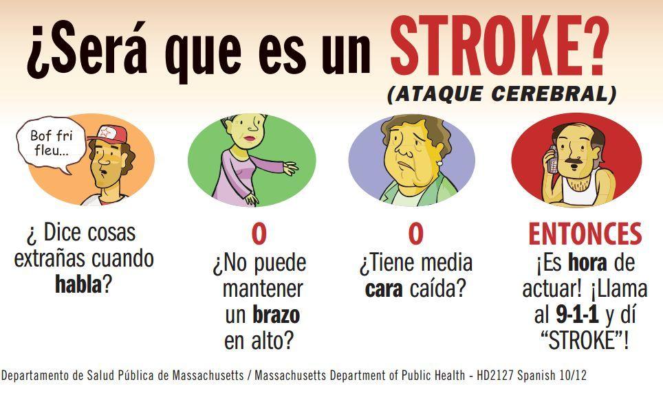 Stroke Program Stroke Awareness Health Promotion Acting