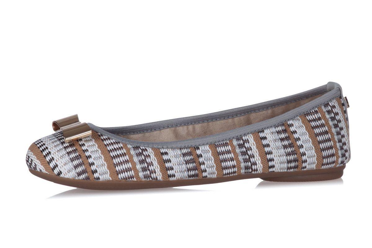 4c2d681701d Butterfly Twists Chloe Dove Grey Basketweave Flat Memory Foam Ballet Shoes
