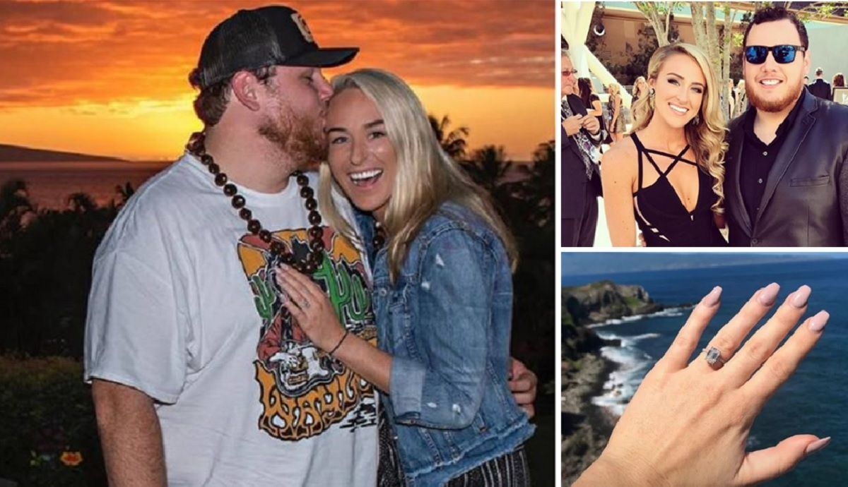 Get To Know Luke Combs Wife To Be Nicole Hocking In 2020 Wife To Be Luke Nicole
