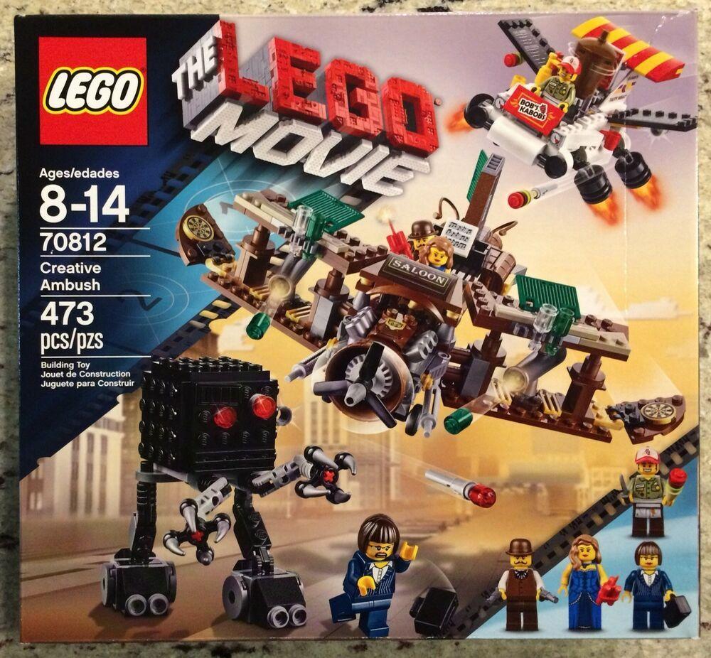 Lego 70811 NISB Lego Movie Retired The Flying Flusher
