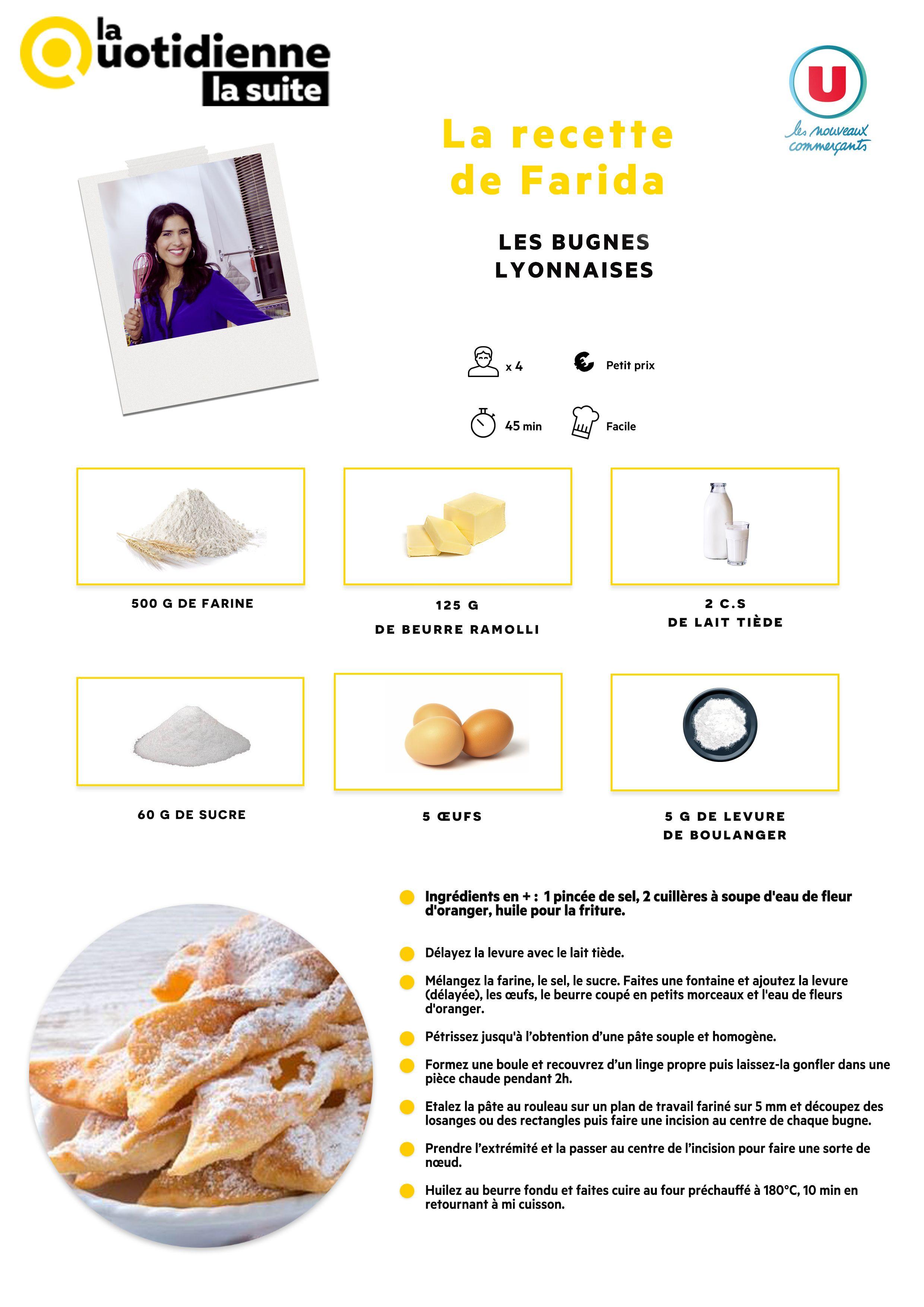 Les recettes , La Quotidienne La Suite , France 5
