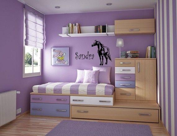 horse decalhorse stickerpersonalized horse by aluckyhorseshoe 1900 - Horse Bedroom Ideas